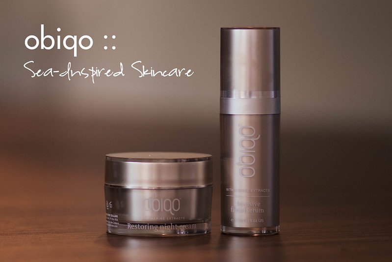 obiqo sea-inspired skincare review
