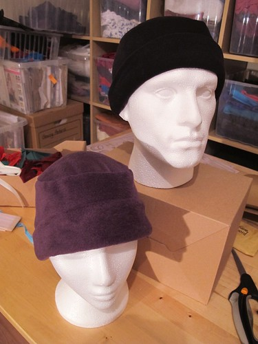 Fleecy hats