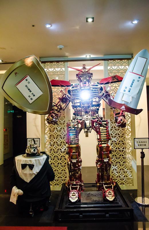Gundam at Taichung City Resort