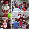 We had a great time at our town library's PJ storytime with Santa. A really nice event, well attended too.