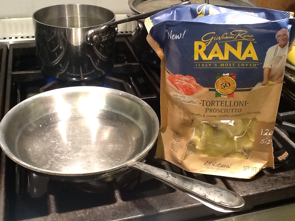 Giovanni Rana semi fresh pasta made in the US with Italian heritage