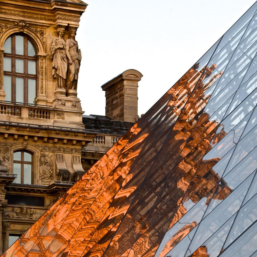 Flammes du Louvre