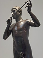 James Harvard Thomas, Thyrsis, (bronze), 1912