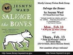 Mostly Literary Fiction Book Discussion: Salvage the Bones by Jesmyn Ward