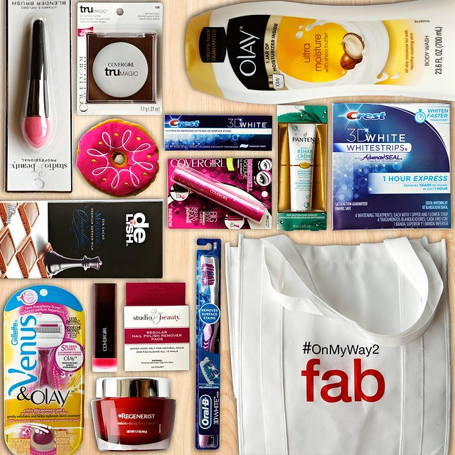 P%26G Walgreens PCA Swag Bag
