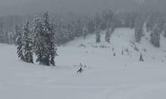 Round Mountain storm skiing