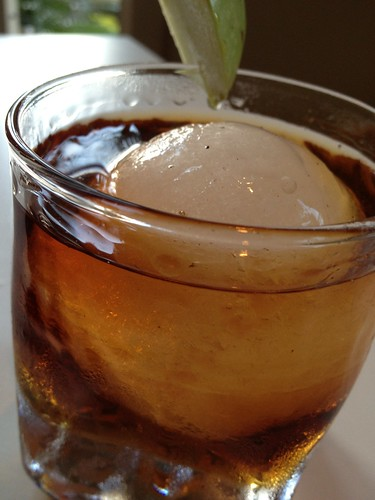 Jack Dusty - Jack's Apple Tar; maker's mark, applejack, maple syrup, coffee liqueur