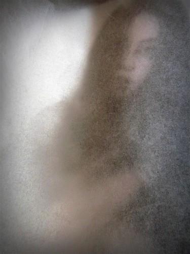 Through silk paper portrait (5)