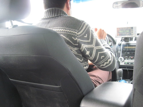 Dubai Taxi Sweater