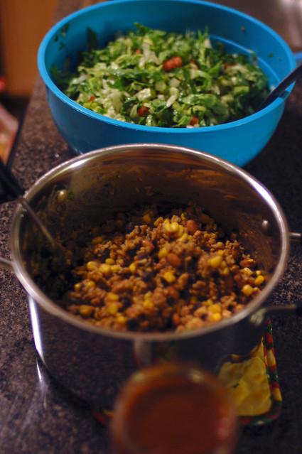 taco salad buffet