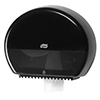SCA 555008 Tork Mini Jumbo Toilet Roll Dispenser Black