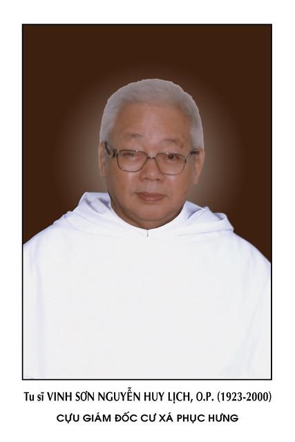 Lm. Vinh-sơn Nguyễn Huy Lịch, OP.