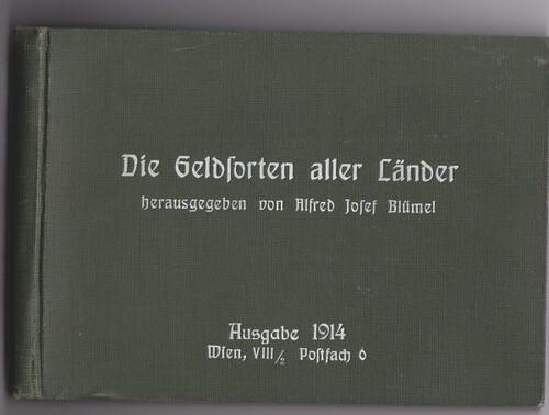 Hugo Semmler postcard album