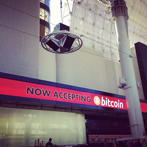 Yup. Now accepting bitcoins. Only casino in #lasvegas to do it!