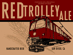 Red Trolley Ale (downloaded from The Global Playbook) by busboy4
