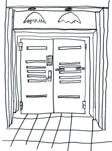 Courtroom Doors