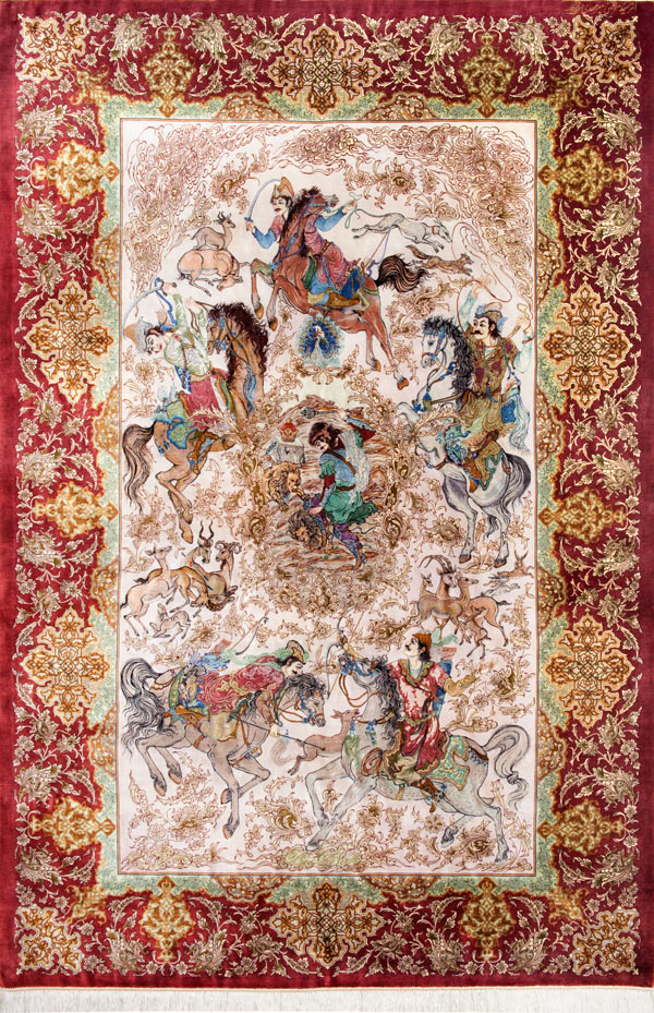 Persian Area Rug Master Piece