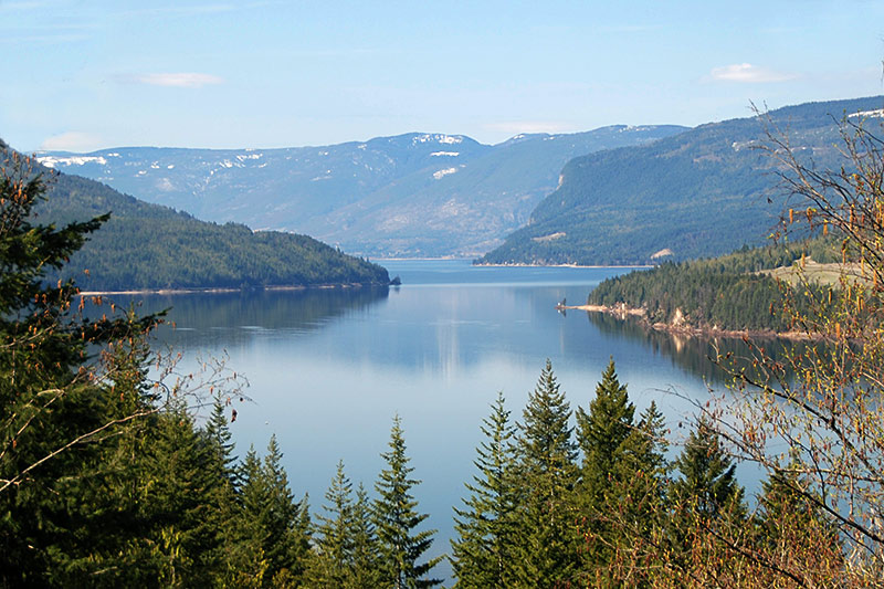 Shuswap Lake, Shuswap, British Columbia, Canada