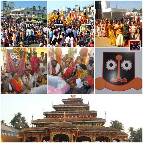 Sri Jagannath Chetana Mohadhibesan has started at puri