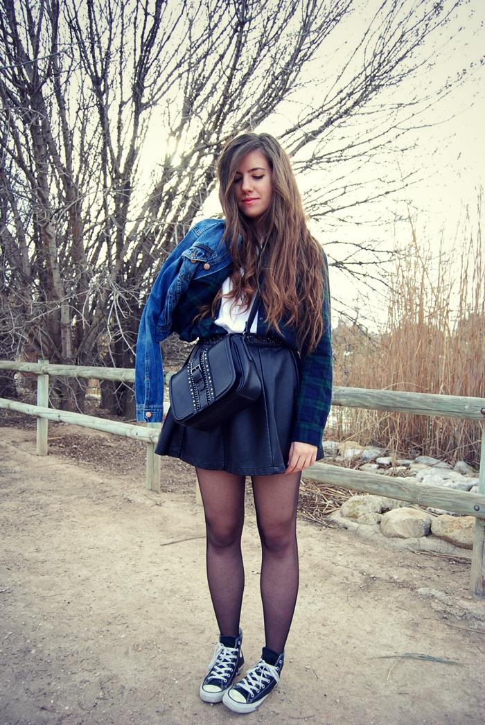 converse falda