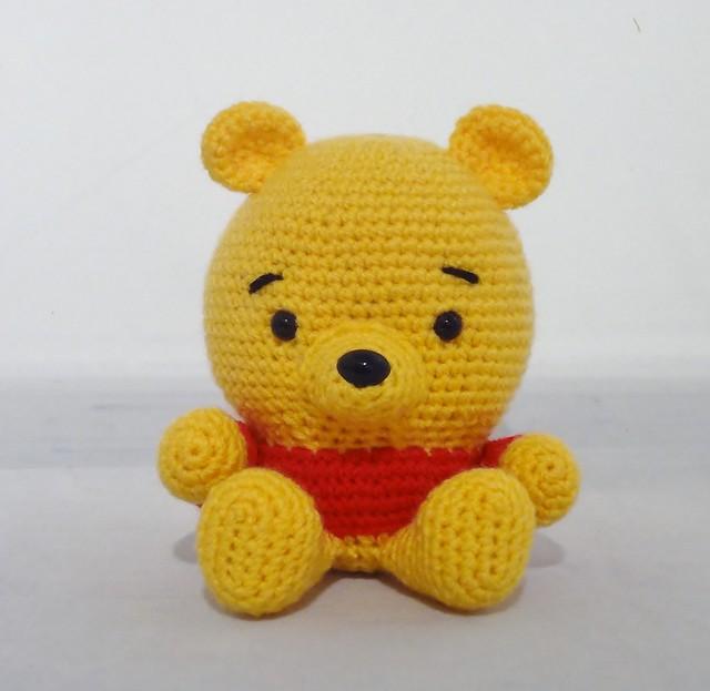Winnie The Pooh And Friends Amigurumi : Amigurumi Baby Pooh Flickr - Photo Sharing!
