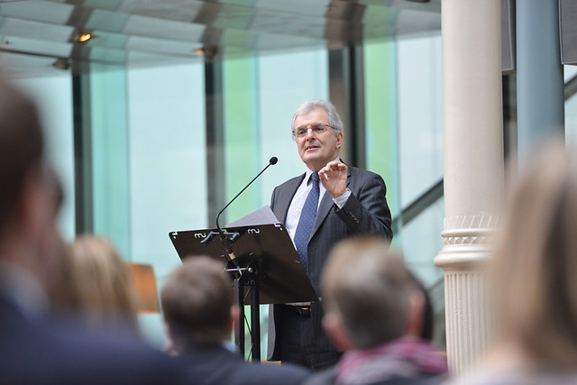 Professor Chris Rapley at the Culture Change Launch Conference © Brian Slater / ROH 2014