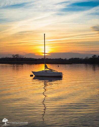 sunset reflection sailboat 50mm boat nc nikon sailing walk northcarolina coastal february mytown anchored d600 newbern coastalliving coastalcarolina niftyfifty