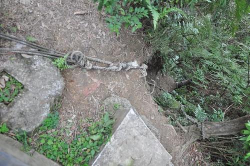 南港山縱走親山步道-拉繩索、攀岩路線
