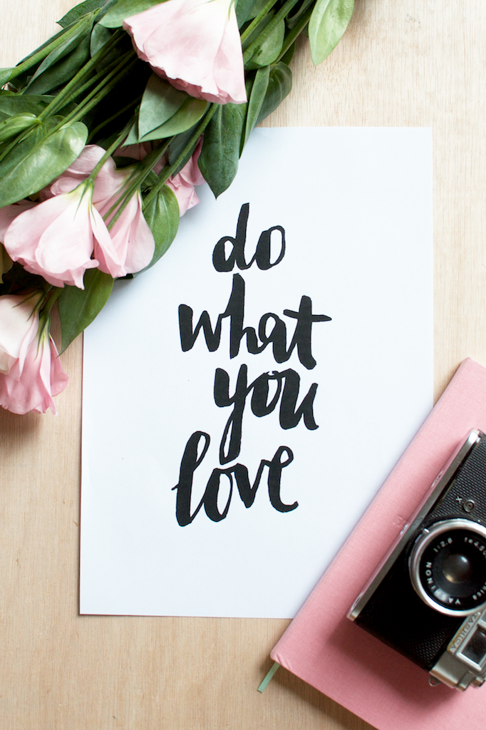 do what you love series  www.apairandasparediy.com