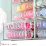 Organised beads & sequins
