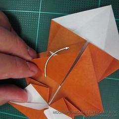 วิธีพับกระดาษเป็นรูปหมี (Origami Bear) 016