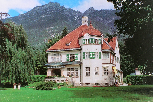 Richard Strauss's villa in Garmisch-Partenkirchen © Josef Lehmkuhl