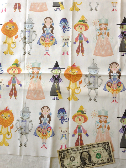 Large Characters Fabric