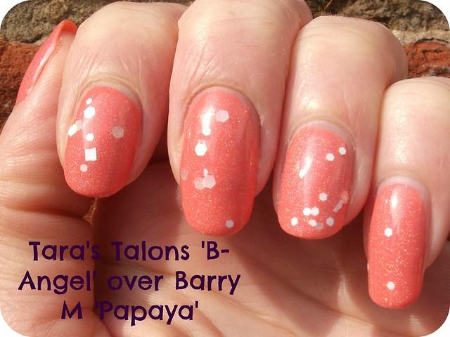 Tara's Talons B-Angel Barry M Papaya NOTD