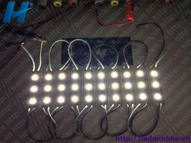 LED Hắt 4512 3 Bóng 5050 SMD Phủ Nhựa