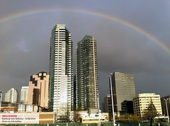 Bellevue rainbow - photo by kirk kohler | Bellevue.com