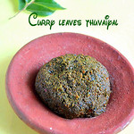Curry leaves thuvaiyal/Karuveppilai thogayal