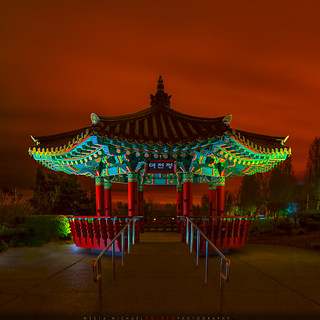 Pagoda at Night