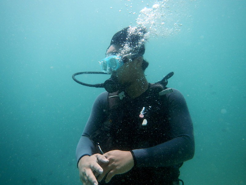 13718697355 1511a5c99e c PADI Discover Scuba Diving Di Pulau Mamutik, Sabah