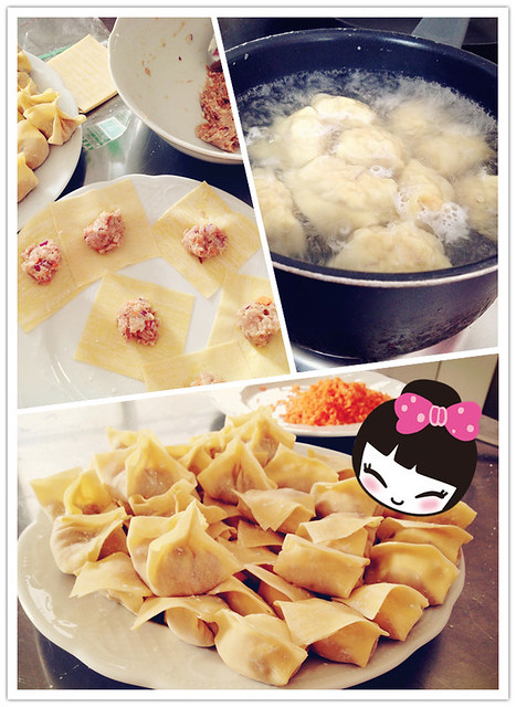 Visiting Sydney: Homemade Wontons