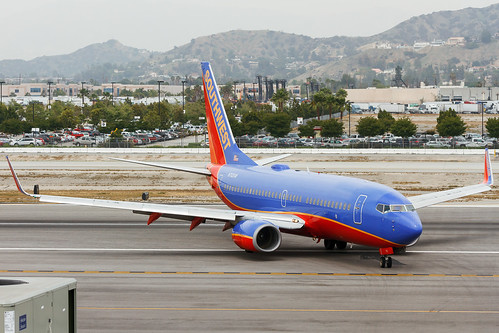 N712SW Southwest Airlines B737-700...