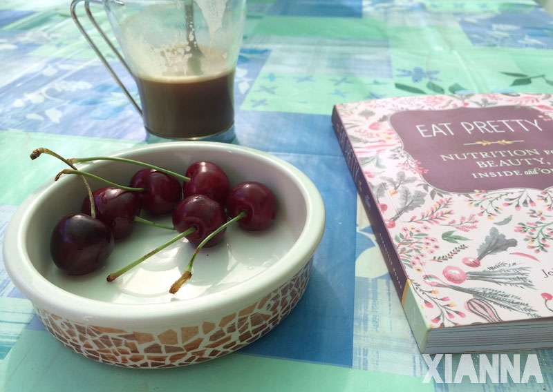Cherries and Eat Pretty book