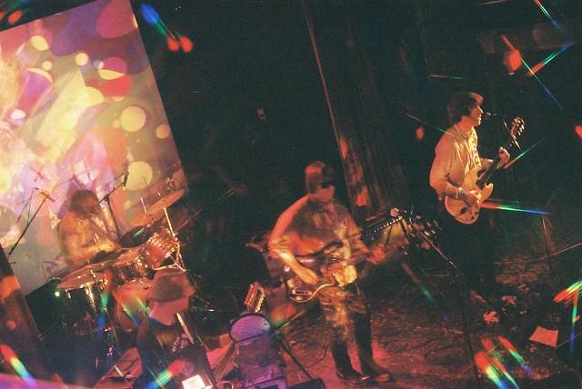 Optical Sounds Show, Tess Parks, B-17, The Auras Live
