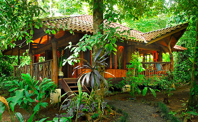 Bungalow at Playa Nicuesa Rainforest Lodge