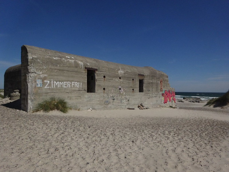 German WWII bunker