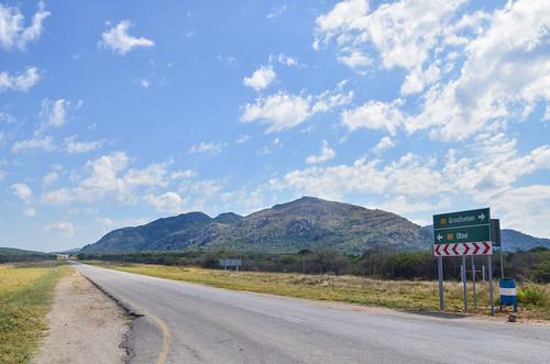 Otavi-Grootfontein road