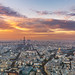 Parisien sunset ... by Mike Ridley.