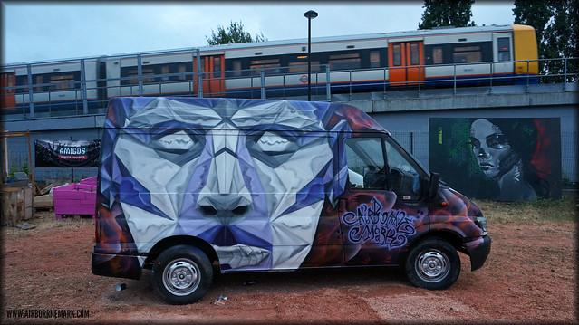 Riot Van at MOS