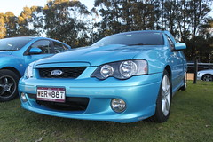 automobile, automotive exterior, wheel, vehicle, compact car, bumper, ford, ford bf falcon, ford ba falcon, land vehicle, luxury vehicle,