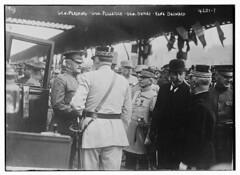 General Pershing, Gen. Pelletier, Gen. Dumas, Rene Besnard (LOC)